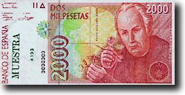 2000 peseta-biljet